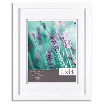 "11"" x 14"" Frame White - Gallery Solutions"