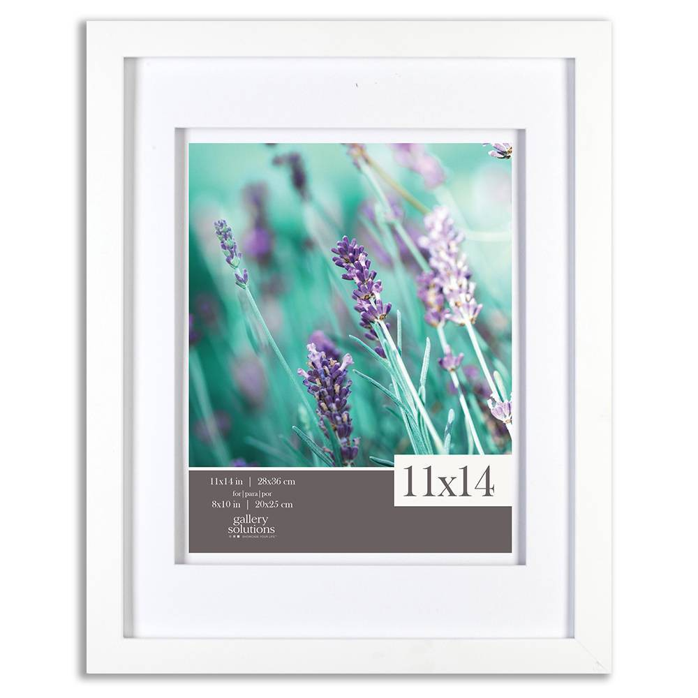 "Image of ""11"""" x 14"""" Frame White - Gallery Solutions"""