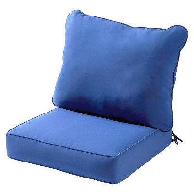 greendale home fashions outdoor deep seat cushion set target