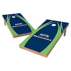 NFL Wild Sports XL Shield Logo Cornhole Bag Toss Set - 2x4ft