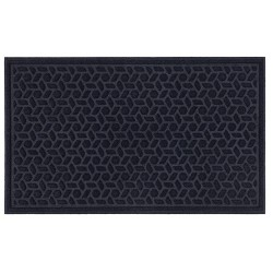 "1'6""X2'6"" Solid Tufted Doormats Navy - Mohawk"