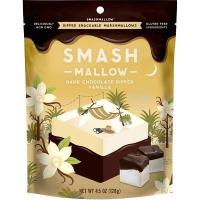 Smashmallow Chocolate Dipped Vanilla Marshmallow - 4.5oz