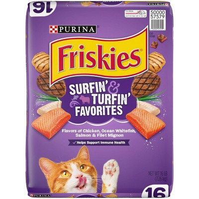 Cat Food: Friskies Surfin' & Turfin' Favorites