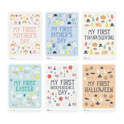 Milestone Baby's First Holidays Photo Cards - 6pc