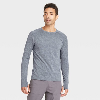 Men's Long Sleeve Seamless T-Shirt - All in Motion™