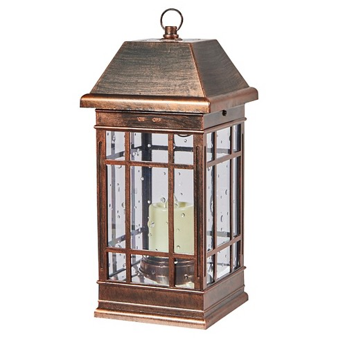 "San Rafael II 15"" LED Solar Mission Outdoor Lantern - Smart Living - image 1 of 3"