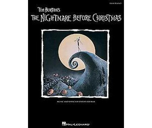 Tim Burton's The Nightmare Before Christmas (Paperback) - image 1 of 1
