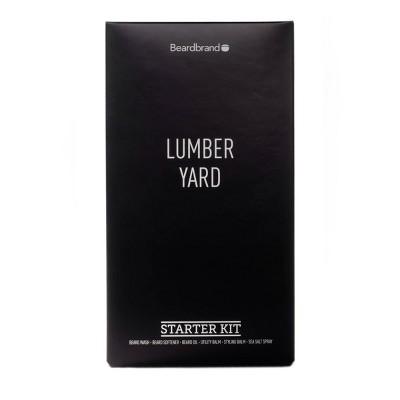 Beardbrand Lumber Yard Beard Starter Kit - 6ct