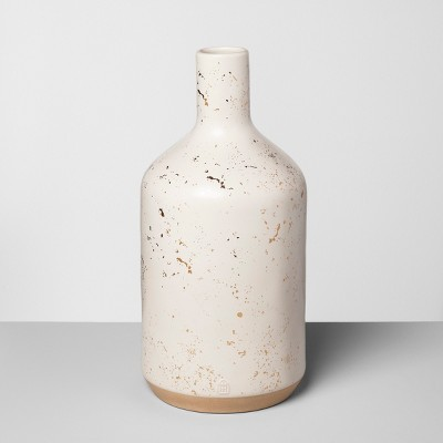 Jug Vase Speckled White - Hearth & Hand™ with Magnolia