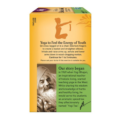 Yogi Green Tea Blueberry Slim Life 16ct Target