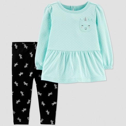 de7c6bf38 Baby Girls  2pc Unicorn Pant Set - Just One You® Made By Carter s ...