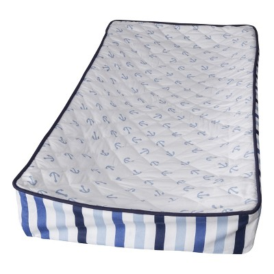 Bacati Changing Pad Cover - Little Sailor