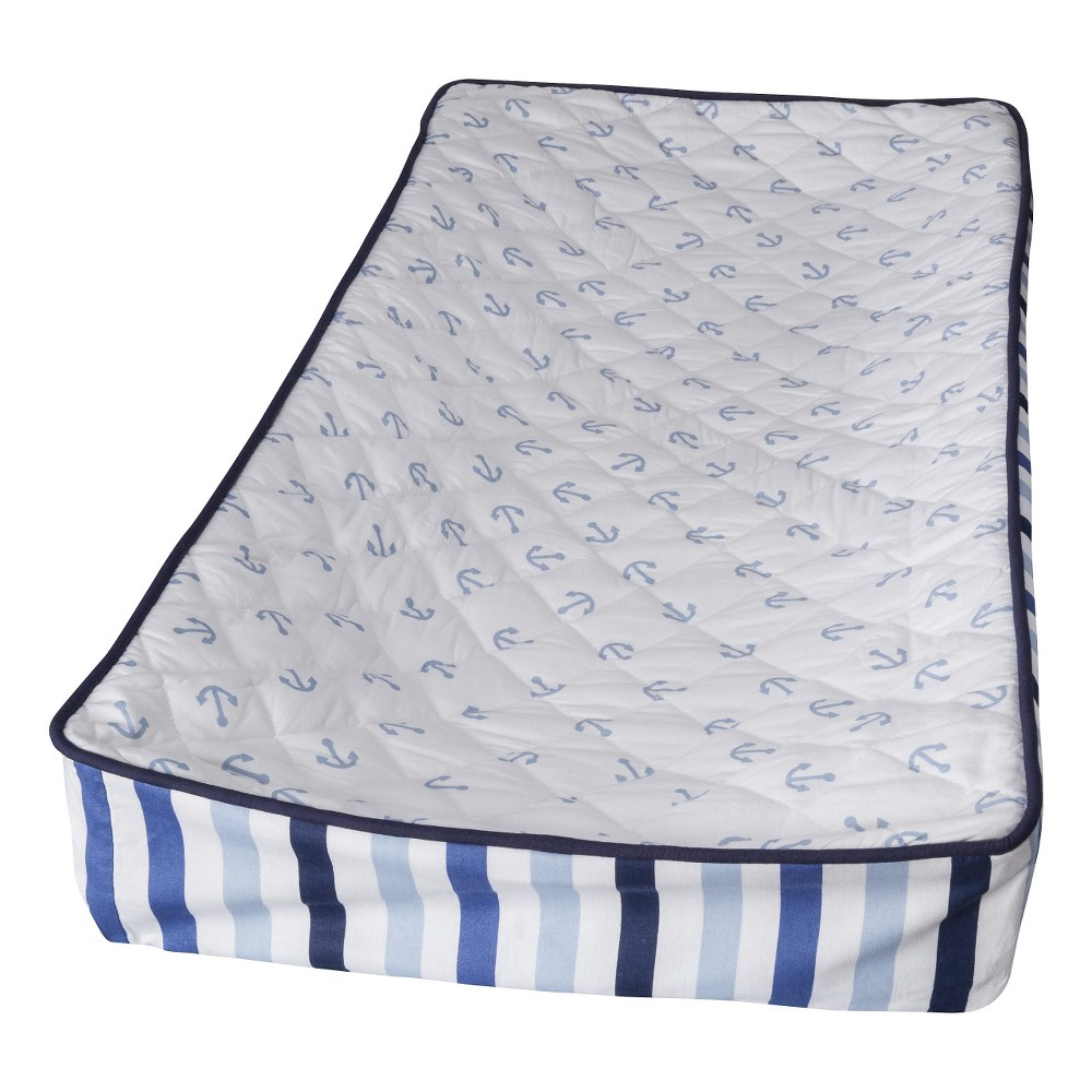 Image of Bacati Changing Pad Cover - Little Sailor