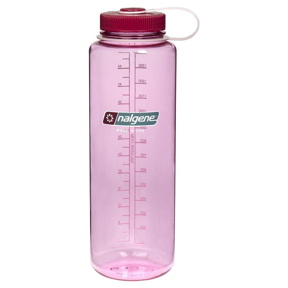 Nalgene Water Bottle Wide Mouth 48 oz - Pink