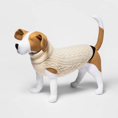 Dog and Cat Sweater - Cream - Boots & Barkley™