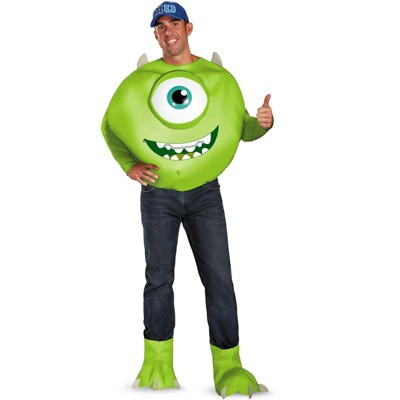 Monsters Inc Monster's University Mike Deluxe Adult Costume