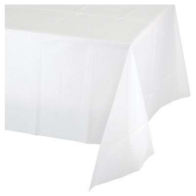 White Plastic Table Cloth - Spritz™