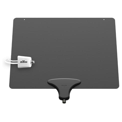 Mohu Leaf Amplified Indoor Hdtv Antenna Blackwhite Target