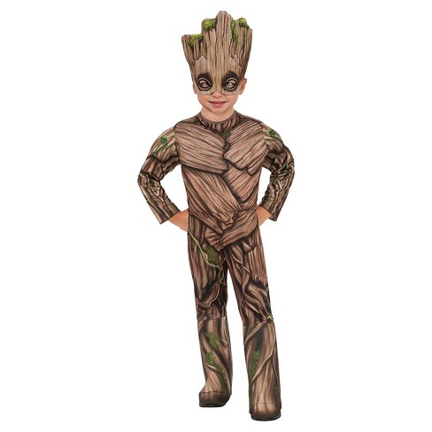 Kids' Guardians of the Galaxy Vol. 2 Groot Deluxe Toddler Costume One Size - image 1 of 1