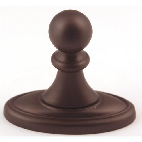 """Alno A8080 Classic Traditional 3-1/2"""" Tall Single Prong Robe Hook - image 1 of 1"""