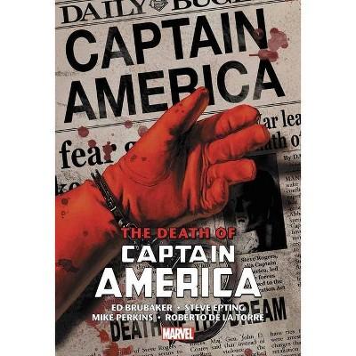 Captain America: The Death of Captain America Omnibus - by  Ed Brubaker (Hardcover)