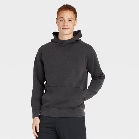 Men's Washed Fleece Hoodie - All in Motion™ - image 1 of 4