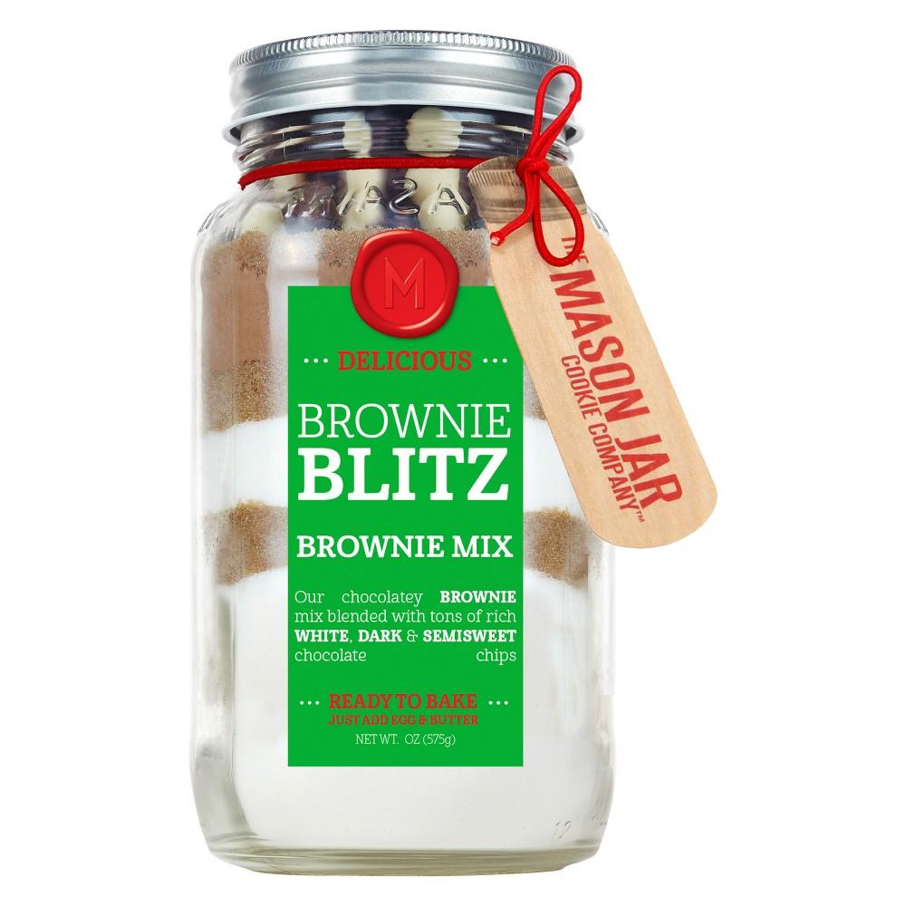 Mason Jar Cookie Co. Brownie Blitz Mix