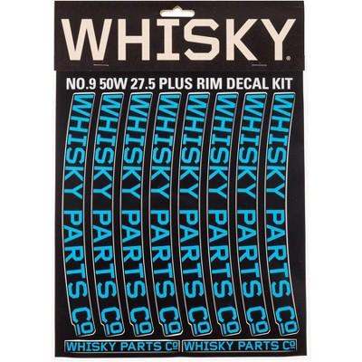 Whisky Parts Co. 50w / 80w Rim Decal Kit Cyan