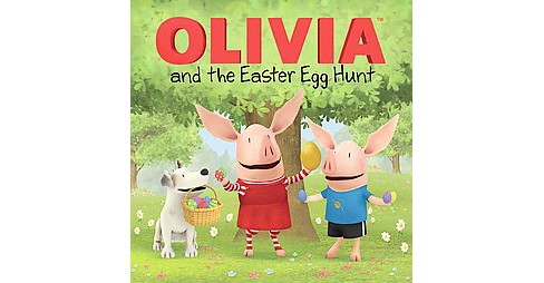 Olivia and the Easter Egg Hunt (Paperback) by Cordelia Evans - image 1 of 1