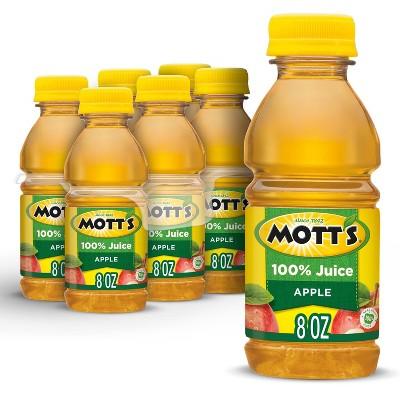 Mott's 100% Original Apple Juice - 6pk/8 fl oz Bottles