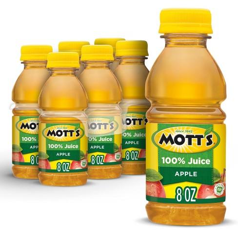 Mott's 100% Original Apple Juice - 6pk/8 fl oz Bottles - image 1 of 4