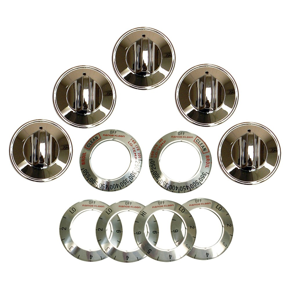 Kleen Range Replacement Knobs, Grey 15440578