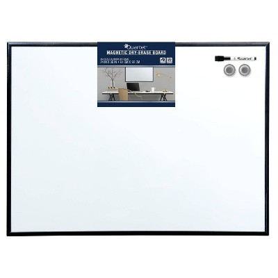 "Quartet 24"" x 36"" Magnetic Dry Erase Board - Anodized Aluminum Frame"