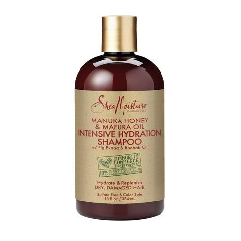 SheaMoisture Manuka Honey & Mafura Oil Intensive Hydration Shampoo - 13 fl oz - image 1 of 4