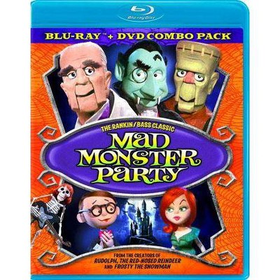 Mad Monster Party (Blu-ray)(2012)