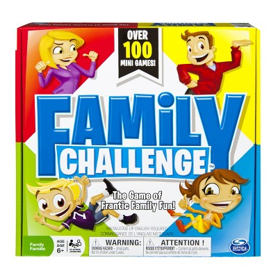 Family Challenge Board Game