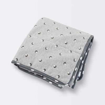 Jersey Knit Reversible Blanket Hedgehog - Cloud Island™