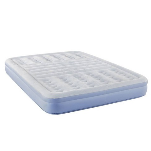 """Thomasville Lumbar Lift 12"""" Queen Air Mattress with Electric Pump - Blue - image 1 of 4"""