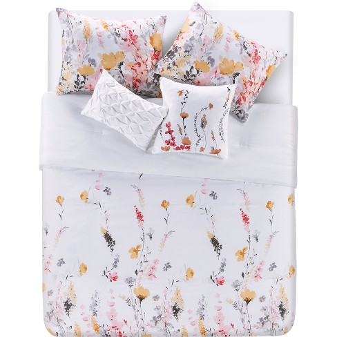 4pc Twin Extra Long Misha Comforter Set - VCNY Home - image 1 of 4
