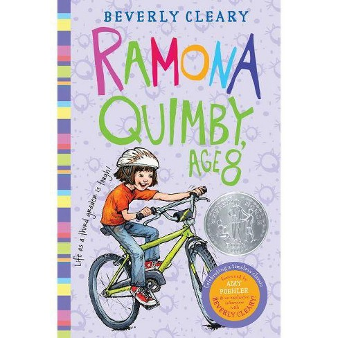 Ramona Quimby, Age 8 - by  Beverly Cleary (Hardcover) - image 1 of 1