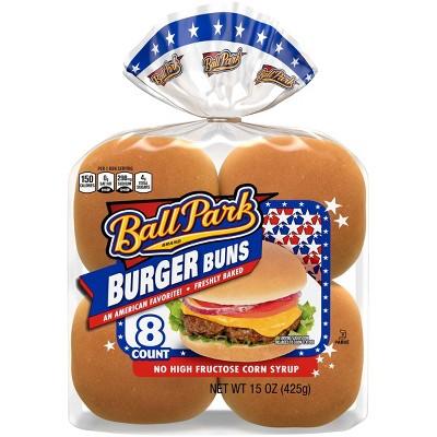 Ball Park Hamburger Buns - 15oz/8ct