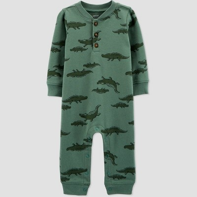 Baby Boys' Gator Romper - Just One You® made by carter's Green Newborn