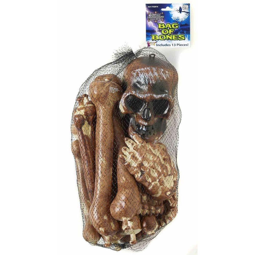 Image of Halloween Bag of Skeleton Bones