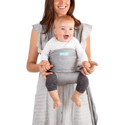 moby baby wraps grey target