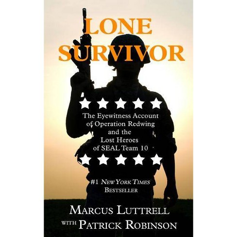 Lone Survivor - (Thorndike Nonfiction) Large Print by  Marcus Luttrell & Patrick Robinson (Hardcover) - image 1 of 1