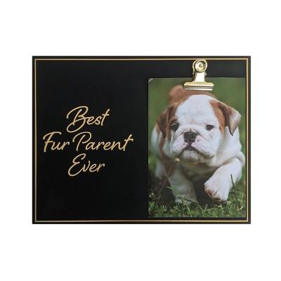 """Paper Riot Co. 4"""" x 6"""" 'Best Fur Parent Ever' Clip Single Image Frame"""