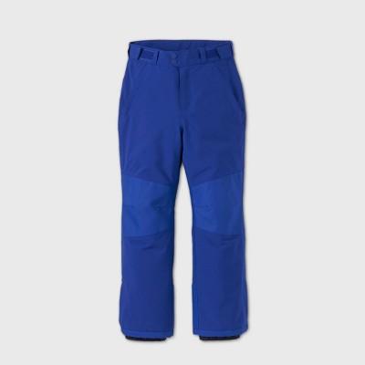 Boys' Waterproof Snow Sport Pants - All in Motion™ Blue XS