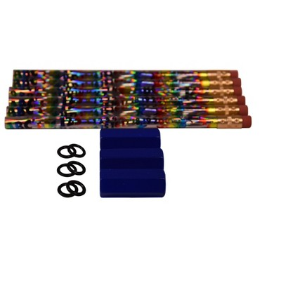 Abilitations Big Weighted Pencils, Assorted Colors, set of 15