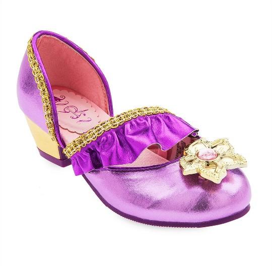Disney Princess Rapunzel Kids' Dress-Up Shoes - Size 9-10 - Disney store, Purple image number null