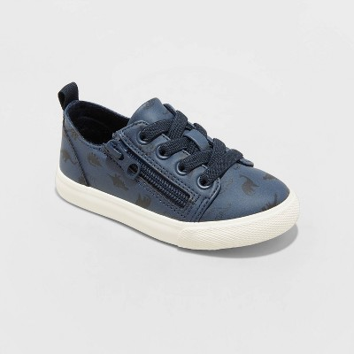 Toddler Boys' Luka Double Zip Apparel Sneakers - Cat & Jack™ Navy